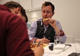Panelet:Joakim Bakken og Jan Ivar Nykvist har testet over 50 pizzaer