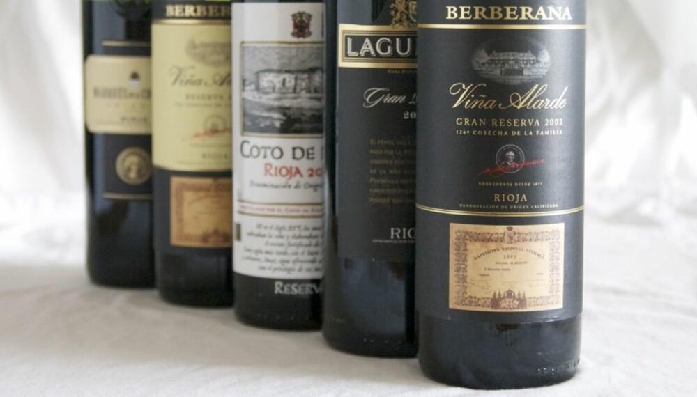 VANILJE: Tradisjonelle rioja-viner er ofte ganske eikepregede, noe som gir dem et snev av vanilje.