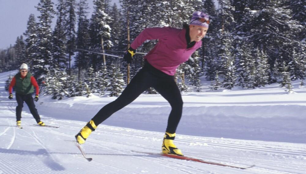 TEKNIKK: Jo bedre balanse jo enklere vil det være å gå teknisk riktig på ski.