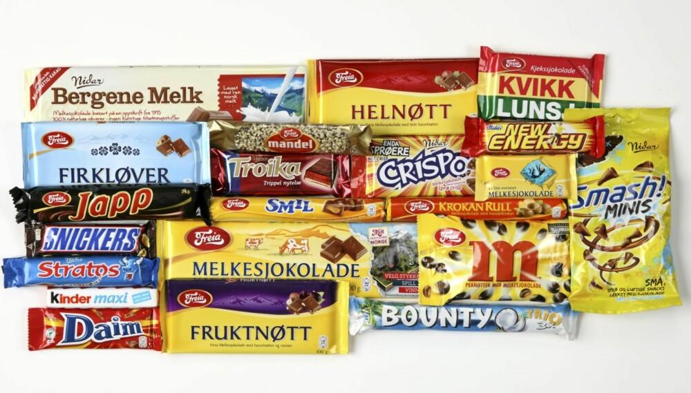 TEST: Vi har funnet ut hvor mye aktivitet som kreves for å forbrenne favoritt-sjokoladen din.