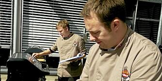 TESTERNE: Ole Petter Gjerustad og Henning Horn Galtung
