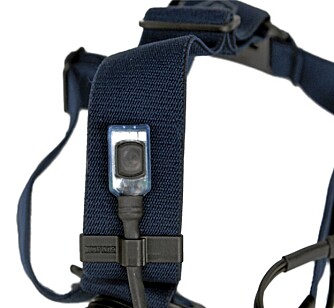GLIMRENDE AV/PÅ KNAPP: Lupine Betty X Pro har en enkel og grei bryter.