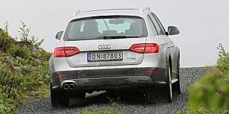 4X4: Audi A4 Allroad har et forbruk under 0,6 liter per mil. FOTO: Terje Bjørnsen