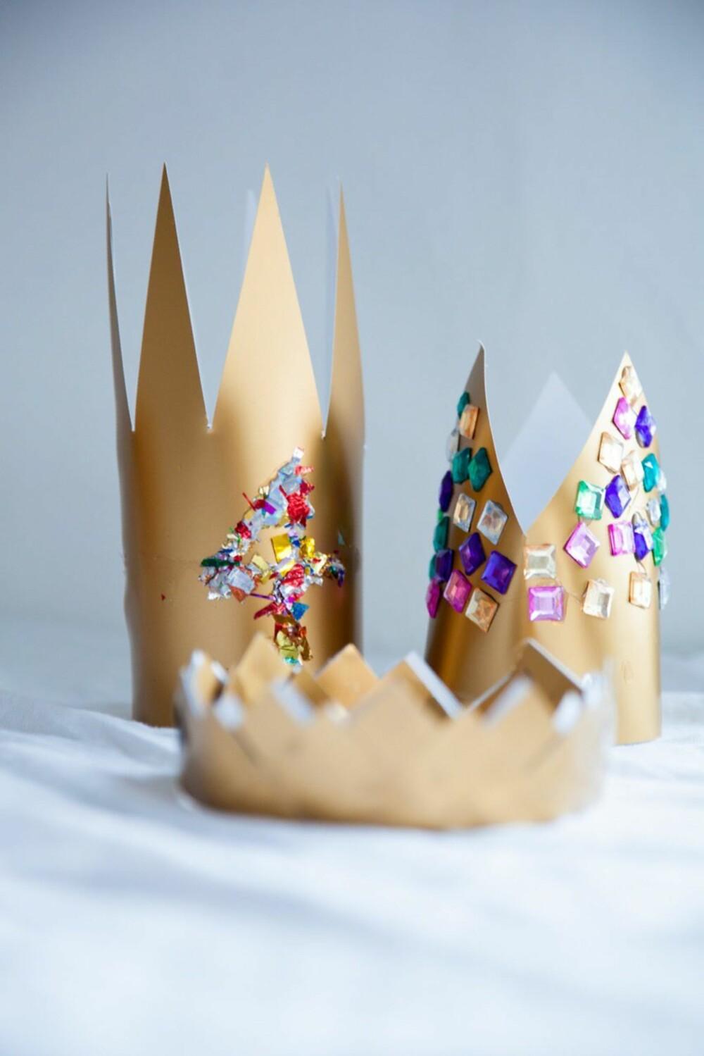 INGEN ER LIK: Lager du kronen selv er det ingen andre barn som har nøyaktig lik.