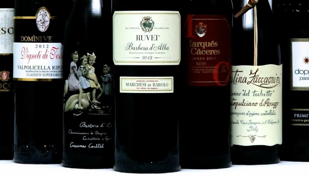 STORE FORSKJELLER: Noen av vinene er riktig gode, mens andre er på grensen til kvalme.
