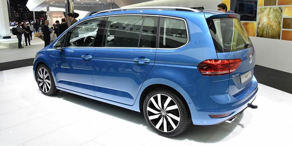 VW Touran. FOTO: Newspress