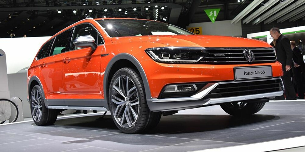 VW Passat Alltrack. FOTO: Newspress