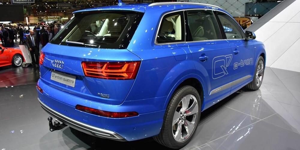 Audi Q7. FOTO: Newspress