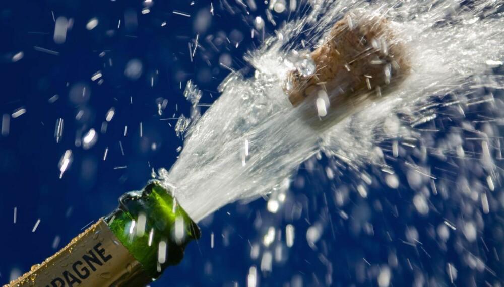 SPRUDLENDE: Kjekt med bobler til frokost eller brunch på 17. mai.