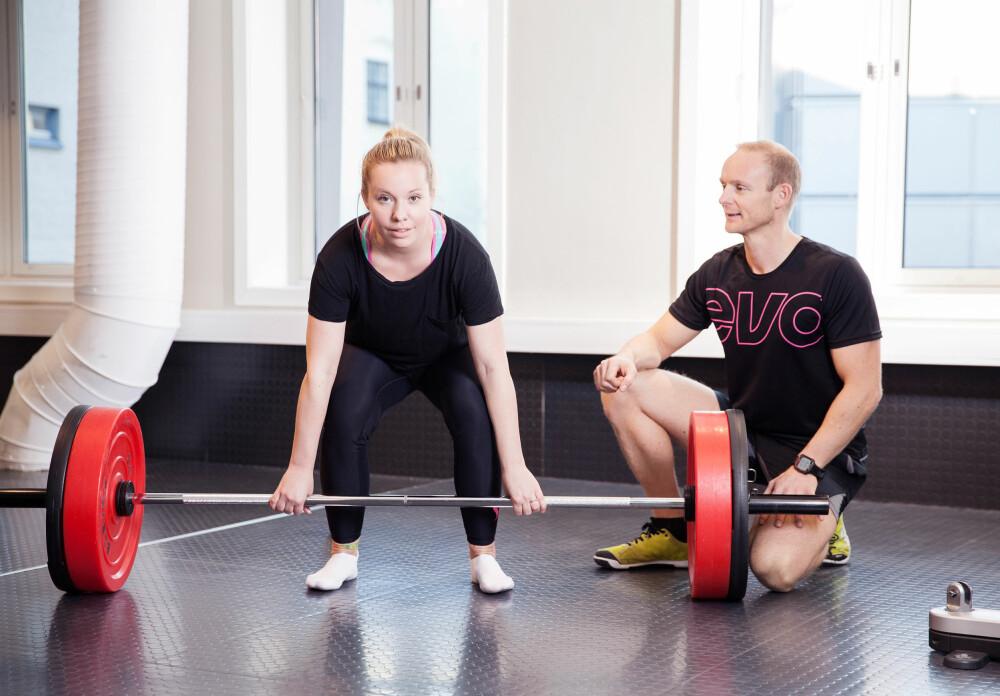 STERKT MØTE: Personlig trener Gunnar ble Isabellas redning.