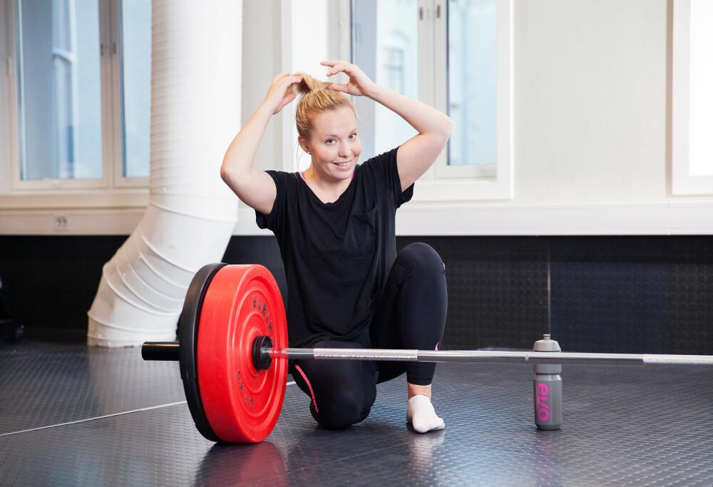 GRÅT FØR TRENING: Isabella har mange ganger gått gråtende nedover Grünerløkka fordi hun skal på trening.