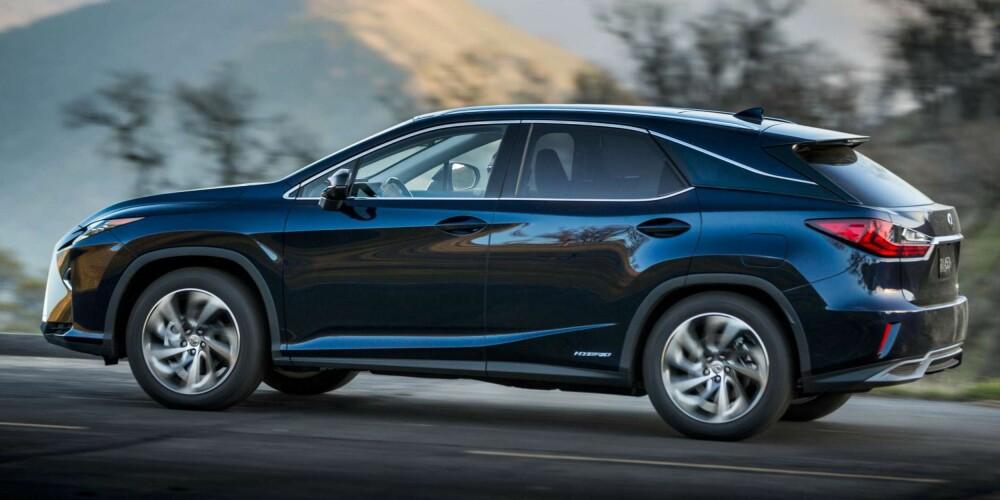 SUV: Lexus RX 450h. FOTO: Produsent