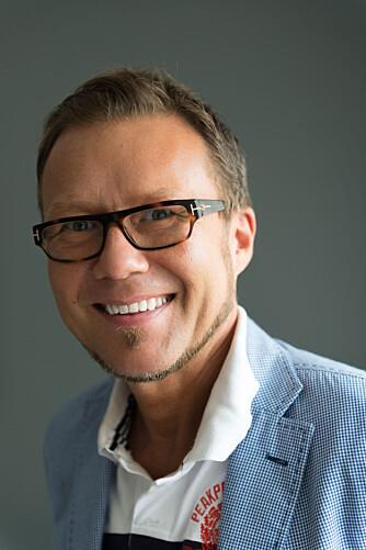 En man med en plan. Interiørarkitekt MNIL Bernt A. Pedersen finner løsninger for alt.