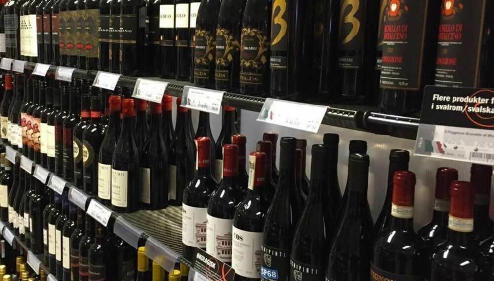 MYE GODT: Det er en rekke gode viner i januar, og spesielt California utmerker seg.