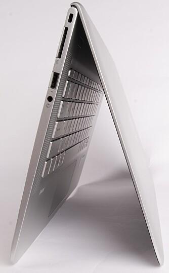 SLANK: HP har nok laget en av markedets slankeste maskiner med  Envy 13.