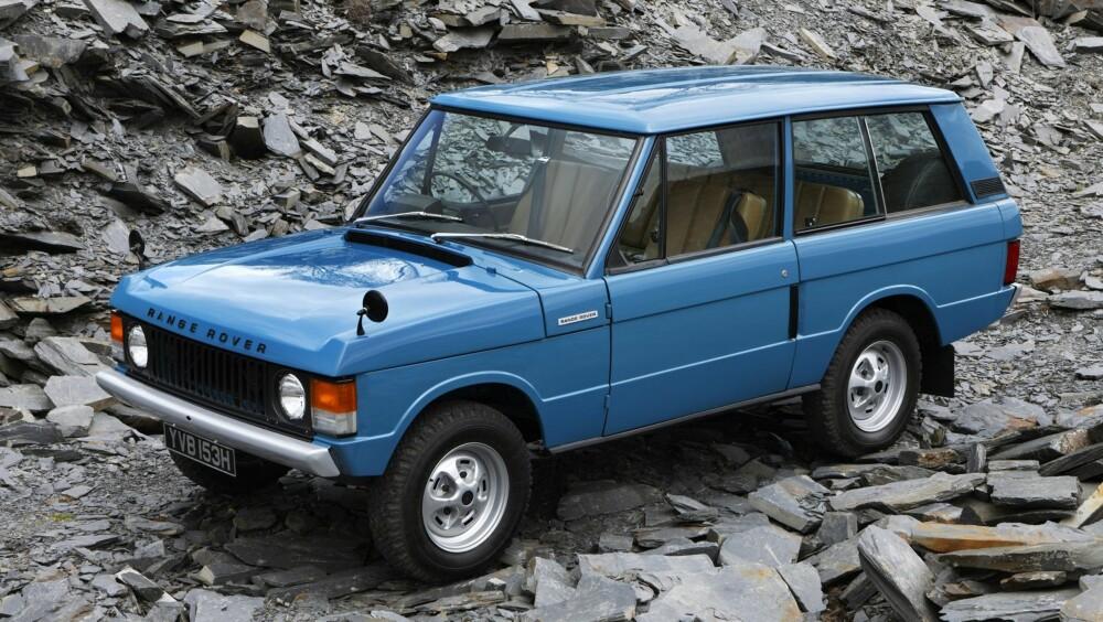 ORIGINALEN: En klassisk Range Rover var drømmen til mange. Det er den fortsatt, men kvaliteten er ofte tvilsom. FOTO: Land Rover