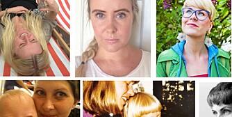 OVER 100 BIDRAG: Her er noen av finalistene i Kvinneguidens skrivekonkurranse.