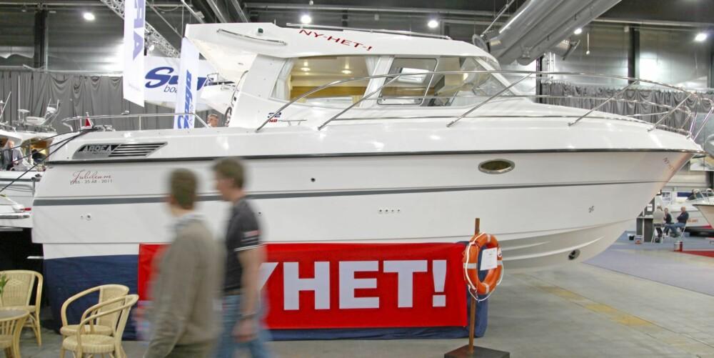 NYHETER: Ardea 32 ble først vist frem under båtmessa Sjøen for alle. Nå er den klar på vannet.