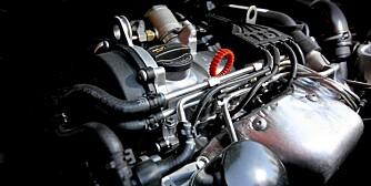 BENSINMOTORER: Tre fjerdedeler av norske bilkjøpere velger i dag dieselmotorer. Snart blir de imidlertid dyrere, og da kan små bensinmotorer som dette ta over.