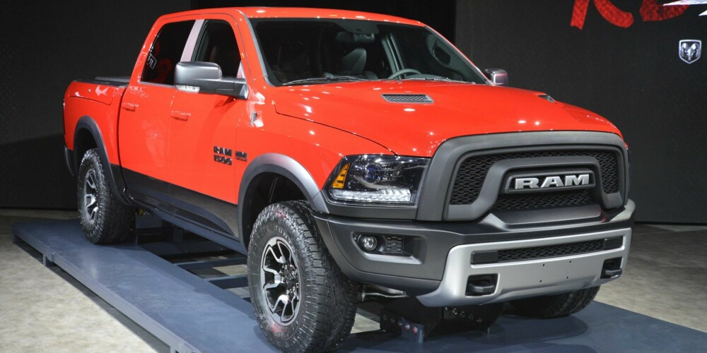 REBEL: Dodge Ram 1500 Rebel er en offroad-versjon av Ram. FOTO: Newspress
