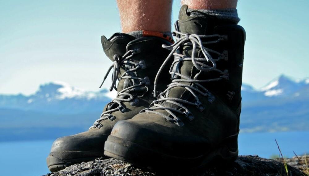 BEST ETTER LITT BRUK: Det er viktig å bruke tid på å gå inn nye sko - uansett hvor gode de føles på føttene når de er nye.