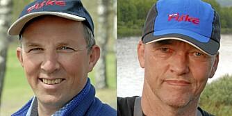 ERFARNE FISKERE: Tom Skyrud (t.v.) og Terje Bomann-Larsen.