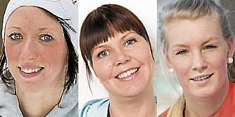 TESTPANELET: F.v. Siri Grude, Thale Berg Husby og Caroline Strand Bøe.