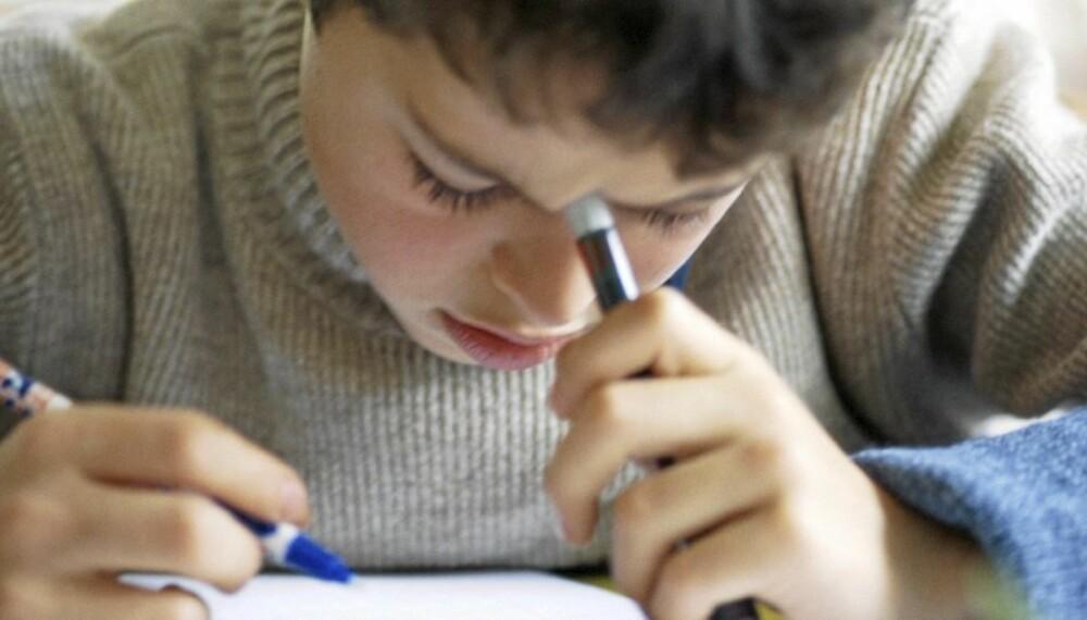 INTELLIGENS: Mye tyder på at høy IQ er medfødt. Men læring og lek kan likevel være med på å stimulere og utvikle intelligensen.