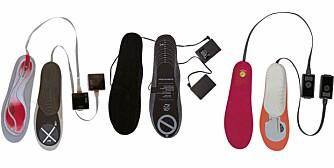 TESTET: Villmarksliv og Klikk.no har testet hansker og såler med innlagt varmetråder for elektrisk oppvarming.