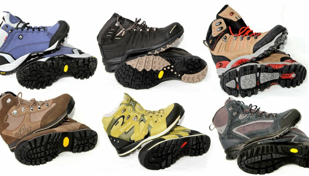 FJELLSKO: Så lenge en ikke er ute etter sko til de aller tøffeste turene, er det flere meget gode modeller å velge blant. Disse seks modellene får terningkast fem.