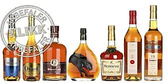 18 COGNACER: Vi har testet 18 cognacer i klassifiseringen V.S og gir deg våre anbefalinger.