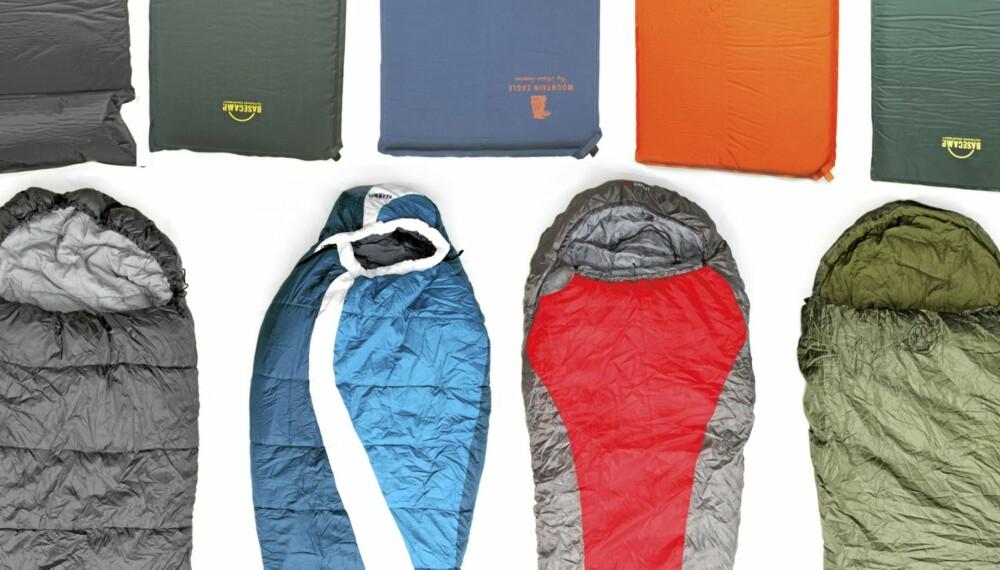 Topnotch Test av soveposer og liggeunderlag - Helse DF-55