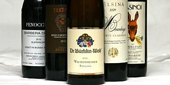 FRISKE VINER: Du trenger viner med frisk syre til å renske opp i fettet.