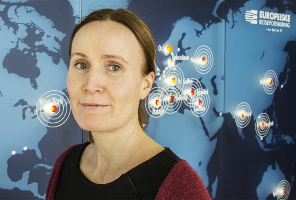 SYKEPLEIER: Mari Holmslien, Europeiske alarmsentral.