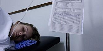 SYK: En kvinne med denguefeber er innlagt på sykehus i Rio, Brazil.