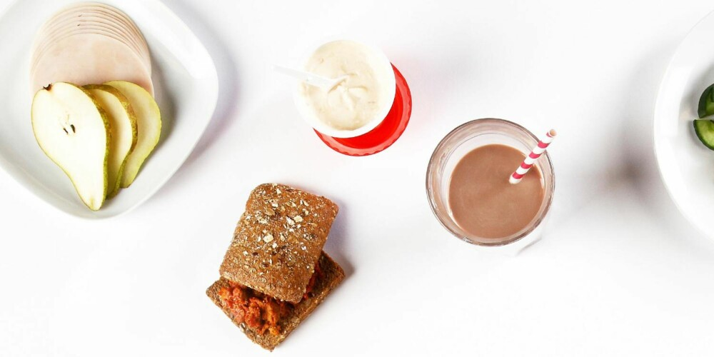 FRA BUTIKKEN: Raske, sunne og enkle mellommåltider.