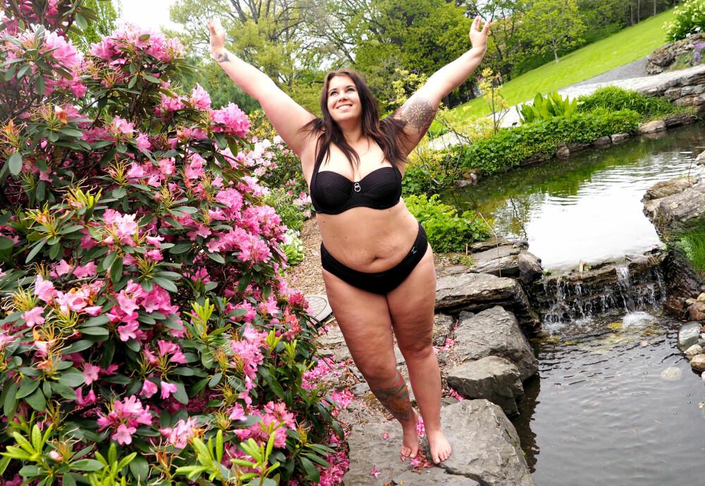 BIKINIKROPPEN: Alt du trenger for å få den berømte bikinikroppen er kroppen din og en lekker bikini!