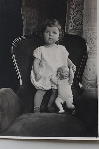 TYSKLAND: Gitte ble født i Tyskland, og opplevde krigen sammen med sin mor, før hun ble sendt ut av det krigsherjede hjemlandet sitt.
