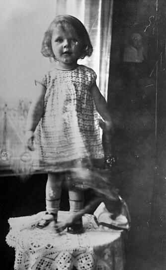 USKYLDIG: Gitte vokste opp i Berlin, men flyktet ut på landet under krigen.