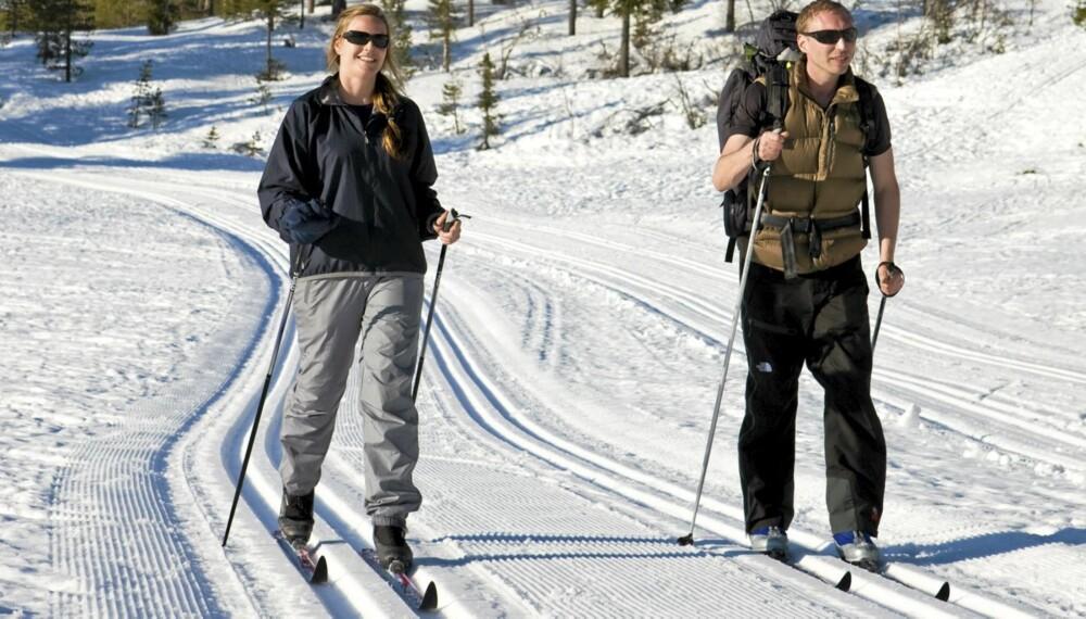 PERFEKT: Lær hvordan du får ski som verken er bakglatte eller som kladder.