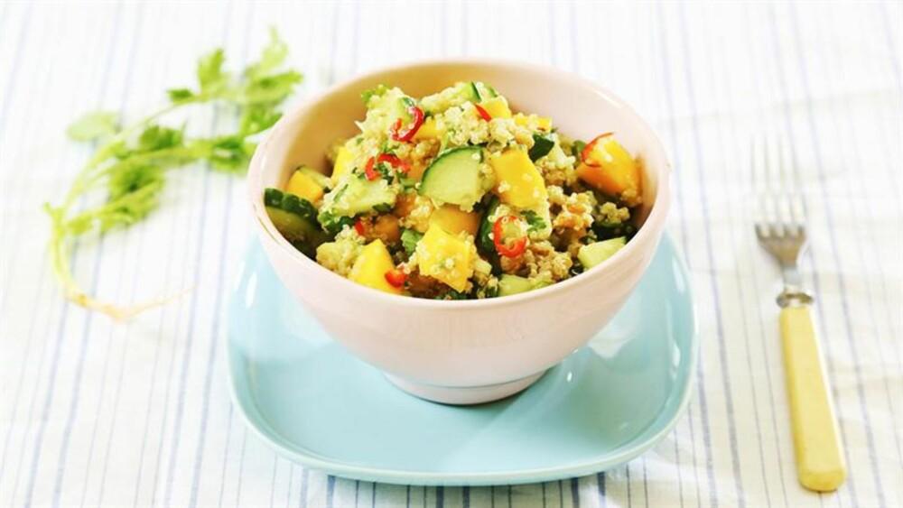 NY FAVORITT: Quinoa er et bra alternativ til pasta, ris og potet.
