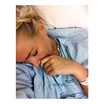 DEN VONDE BESKJEDEN: For en måned siden fortalte legen Thea Steen at hun har fått livmorhalskreft.