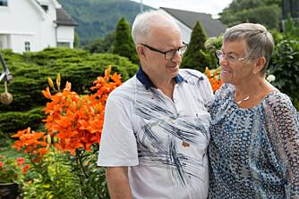 HJERTEVENNER: Jorunn Ågot har vært gift med sin Inge i 50 år nå.