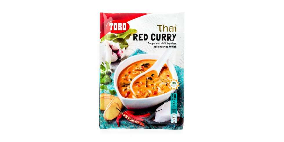 TEST AV POSESUPPE: Toro Thai red curry.