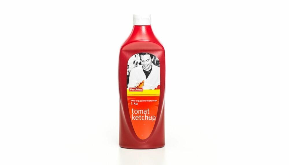 TEST AV KETSJUP: First Price tomatketchup.