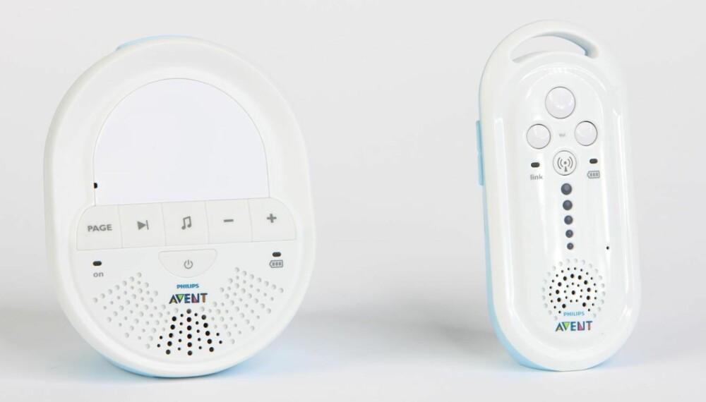GOD BABYCALL: Philips Avent SCD 505 gjør god figur i denne testen.