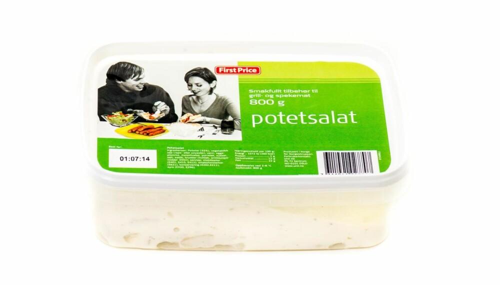 TEST AV POTETSALAT: First Price potetsalat.