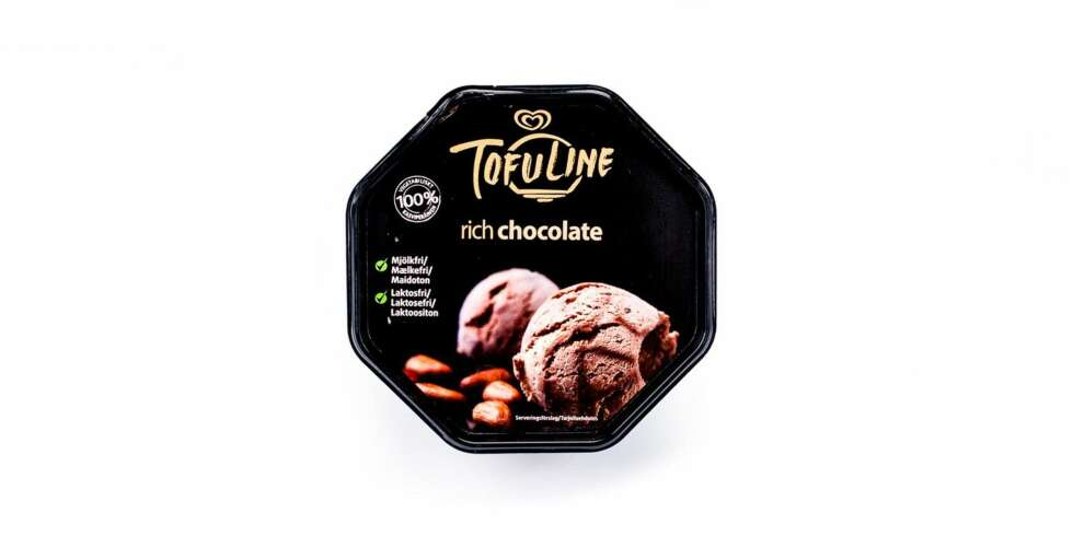 TEST AV ALTERNATIV IS: Tofuline Rich Chocolate (soya-is)