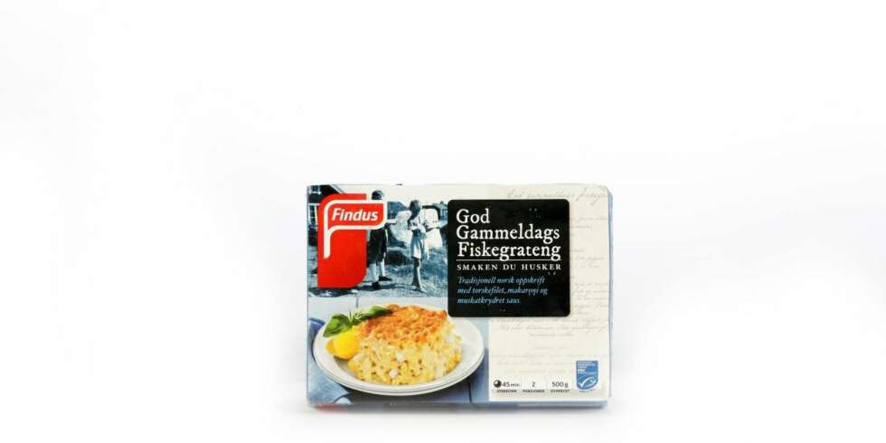 TEST AV FISKEGRATENG: Findus God Gammeldags.