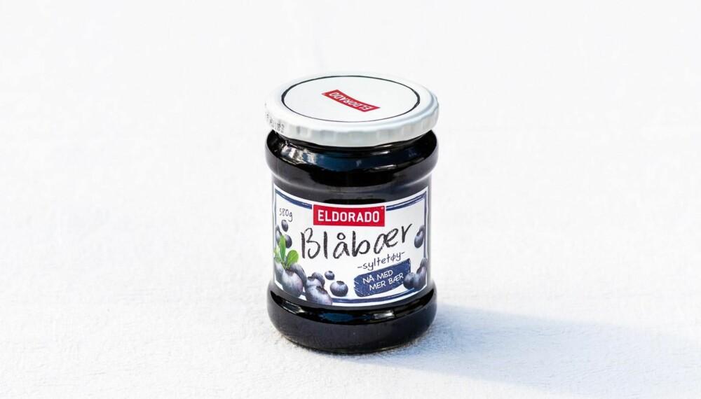 TEST AV BLÅBÆRSYLTETØY: Eldorado blåbærsyltetøy
